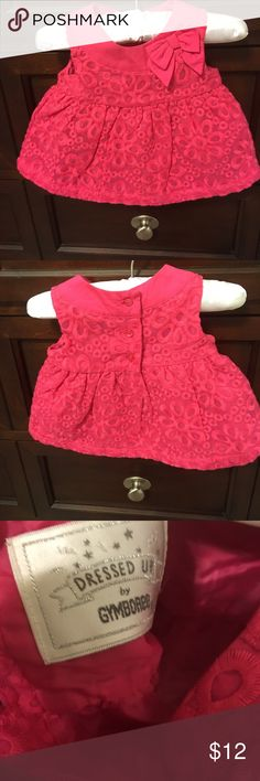 Beautiful pink Gymboree eyelet infant dress Beautiful pink Gymboree eyelet infant dress. Dressed up Gymboree size 0 to 3 months. In excellent condition. Gymboree Dresses Formal