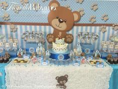 Decoracion 2 Baby Shower Balloons, Baby Shower Parties, Baby Shower Themes, Shower Ideas, Teddy Bear Baby Shower, Baby Boy Shower, Juegos Baby Shower Niño, Fun Baby Announcement, Baby Diy Projects