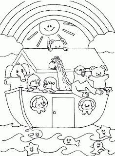 Tiny Hearts Blog: Lesson 13: Noah's Ark
