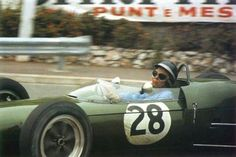 1961 Monaco GP, Monte Carlo : Jim Clark, Lotus-Climax 21 #28, Team Lotus, Qual. (ph: wordpress.com)