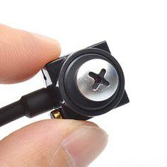 Kingmak HD 600TVL CMOS Pinhole Lens Mini FPV CCTV Pinhole Hidden Security Camera