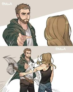 The Relationship Thor And Captain Marvel In Avengers End Game Trailer Getting Vi. - The Relationship Thor And Captain Marvel In Avengers End Game Trailer Getting Vi… Check more at t - Marvel Dc Comics, Marvel Avengers, Marvel Jokes, Captain Marvel, Marvel Funny, Marvel Heroes, Avengers Memes, Thanos Marvel, Meme Comics