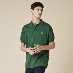 Men Polo Shirt Green