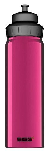 Sigg Wide Mouth Slim Water Bottle (Purple, 0.75-Litre) by Sigg. $15.56. The latest easy-to-grip SIGG sport bottle. Wide mouth convenience (for easy cleaning and ice cubes) paired with SIGG's 3-Stage sport top and a new slim design.. Save 18%!
