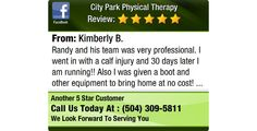Randy and his team was very professional. I went in with a calf injury and 30 days later I...