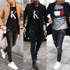 346 vind-ik-leuks, 4 reacties - Fashion   Streetwear   ファッション (@bckstreetfashion) op Instagram: 'Wich one is Your favourite style? . . . . . . . . . . . . . . . . . #mensweardaily…'