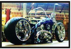 V-Lux, by Matt Hotch, Winner of the 2007, Biker Build Off.