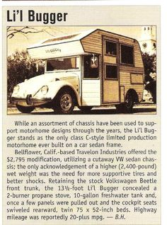 VW Bug Camper The best chassis for this!!!