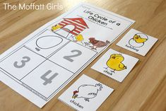 Teach number concepts, colors, shapes, letters, phonics and so much more with the May NO PREP Packet for Preschool!