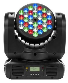 American DJ Inno Color Beam LED Stage Light: Featuring red, white, blue, and green LEDs, the Inno Color Beam also sports an impressive array of control options including two DMX channels and LED menu.