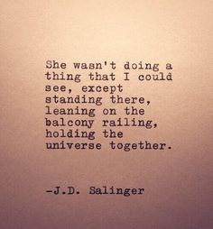 Holding the universe together
