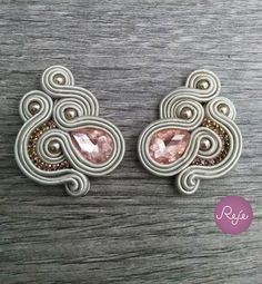 Soutache Necklace, Tassel Earrings, Boho Jewelry, Wedding Jewelry, Handmade Necklaces, Handmade Jewelry, Shibori, Polymer Clay Charms, Beaded Embroidery