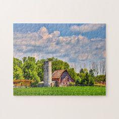 Ferncliff Ohio. Jigsaw Puzzle - christmas idea gift idea diy unique special merry xmas family holidays