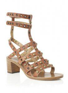 Cheap Isabel Marant Cognac Lester Studded Sandal Hot Sale, Discount Isabel Marant Sneakers