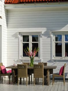 VILLA VON KROGH Villa, Windows, Patio, World, Outdoor Decor, Home Decor, Travel, Terrace, Lawn And Garden