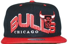 Mitchell & Ness Chicago Bulls Snapback The Wave NZ05Z jetzt radikal reduziert!  19,90 Euro + Versandkosten www.phattstyle.de Chicago Bulls THE WAVE