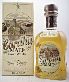 Cardhu 12 year old Single Malt Whisky 40% 75cl