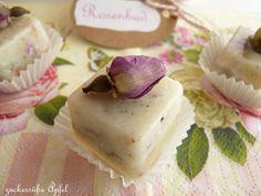 ** Zuckersüße Äpfel **: Es duftet nach Rosen...Badepralinen DIY