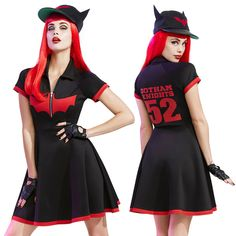 DC Comics Bombshells Batwoman Baseball Dress