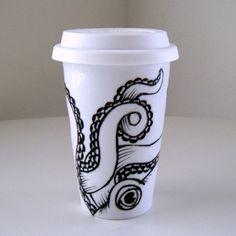 Octopus Ceramic Mug