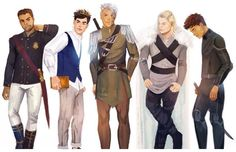 ToG guys but where is Lorcan, Gavriel and basically the whole Cadre???