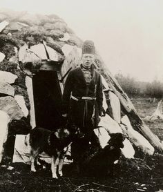 Sami man Sweden early 1900 by saamiblog, via Flickr