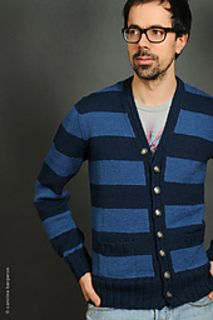 Kerouac Cardigan - Paid for Knit Cardigan Pattern on Ravelry - Knits for Men - Pattern by Jenn Jarvis