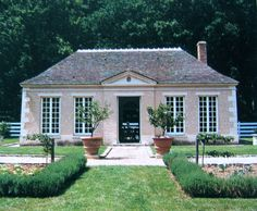 Hubert de Givenchy - Orangery at Le Jonchet. From The Givenchy Style, Rizzoli…