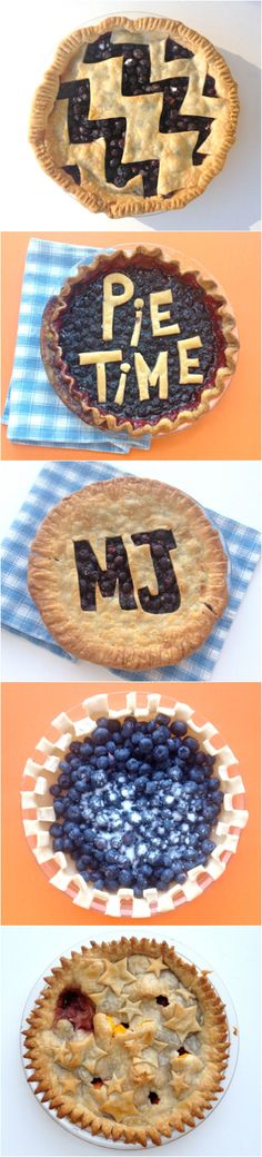 Pick your favorite filling and get creative with your pie crust.
