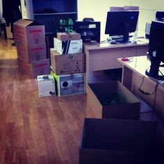 Moving out to our new offices!