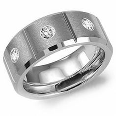 Crown Ring - Collections Alternative Metal Tungsten Carbide Tu 5502
