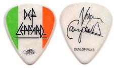 DEF LEPPARD Guitar Pick : 2008 Tour - Vivian Campbell flag dunlop