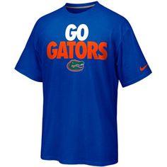Nike Florida Gators Rise & Roar Go Gators T-Shirt - Royal Blue #gift #fanatics