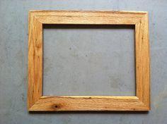 11x14 Oak Wood Frame by JonesFraming on Etsy