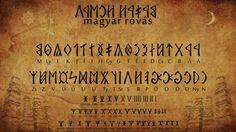 Hungarian Runes by discouragedone on DeviantArt Runic Writing, Rune Tattoo, Rune Symbols, Writing Characters, Hungary, The Secret, Old Things, Deviantart, 15th Century