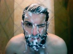 piefdork:    my followers are leaving me and I just noticed. Washing the beard is the best part.