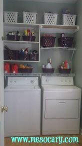 laundry room makeover for under 100, home decor, laundry rooms, finally clean and organized