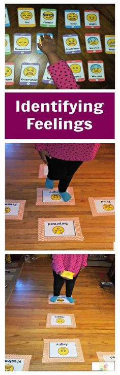 X- Social skills activities to help kids learn to label and identify their feelings.