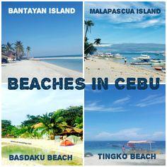 List of Beaches in Cebu North, Cebu South, Cebu East and Cebu West. Paradise Beach Resort, Camotes Island, Mactan Island, Bantayan Island, Philippines Cebu, Kawasan Falls, Dive Resort, Turtle Beach, Beach Villa