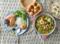Keralan Coconut Egg Curry Winter Warmer