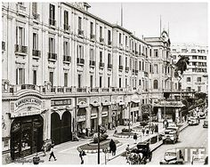 Exterior View of Shepheard's Hotel - Cairo In 1942 | Flickr
