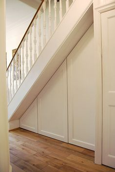 Super under stairs storage cupboard stairways Ideas House Design, Hallway Storage, House, Stairs, House Stairs, Under Stairs Cupboard, Basement Stairs, Stairways, Built In Cupboards