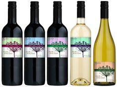 Wine Label Varietal Marca Privada Chile