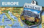 Europe European Travel Shield Charms