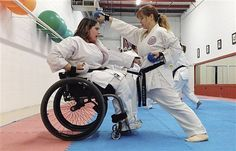 Kelly Schultz, a 33-year-old woman with spina bifida who lives in Illinois will be testing for her black belt. If you can dream it you can do it