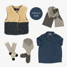 Hiking In Style Baby Online, Kind Mode, Kids Fashion, Hiking, Shopping, Clothes, Style, Walks, Outfits