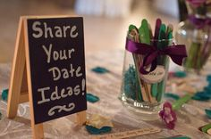 Best idea for our wedding! We now have a surplus of ideas to keep this marriage fresh! :)