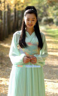 Ancient Korean Girl Costumes Complete Set