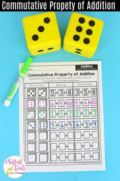 Math games 368450813262960129 - Math Made Fun for Grade! Teach addition up to 20 in Grade fun, hands-on ways! Fun math centers and printable games included! Source by Hermyohneepins 1st Grade Math Games, Centers First Grade, Second Grade Math, Kindergarten Math, Teaching Math, Math Centers, Math For Kids, Fun Math, Math Activities