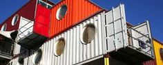 Container City™ is an innovative modular system that creates affordable accommodation for a range of uses. Container Architecture, London City, Prefab, Container Houses, Bright Colours, Shipping Containers, Towers, Bridges, Floors